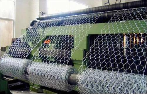 Hexagonal Mesh Production Line for Gabions, Box, Mattress Production