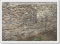 Woven Gabions Cage