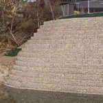 Stable Slope System Of Gabions
