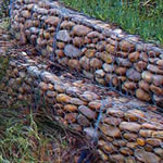 River Bank Protections Of Gabions